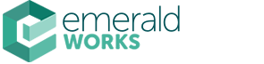 Logo: Emerald Works.